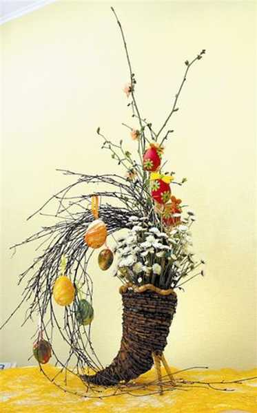 contemporary easter ideas, handmade crafts