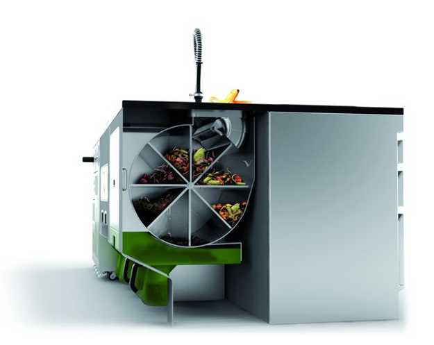 waste recycling kitchen appliances