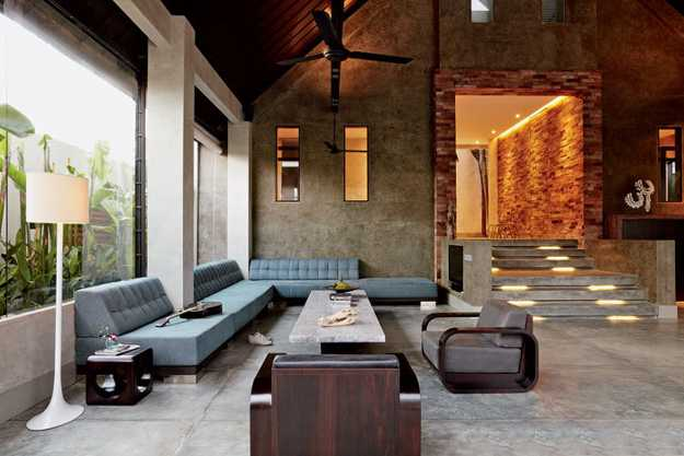 Luxurious architectural interiors and outdoor living - Modern house interior design ...