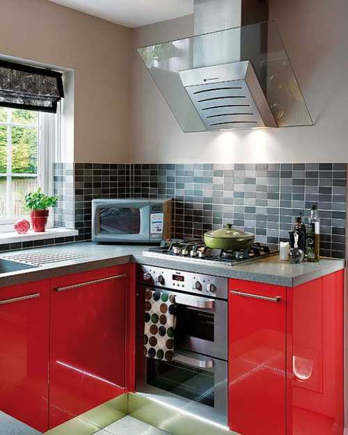 exciting red kitchen decor | Modern Kitchen Design in Revolutionizing Bold Red Color