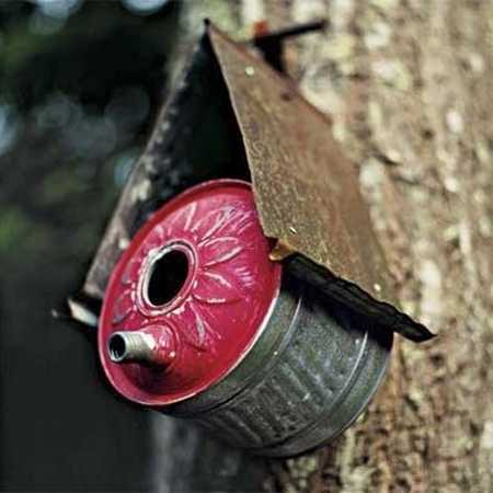 homemade birdhouse design