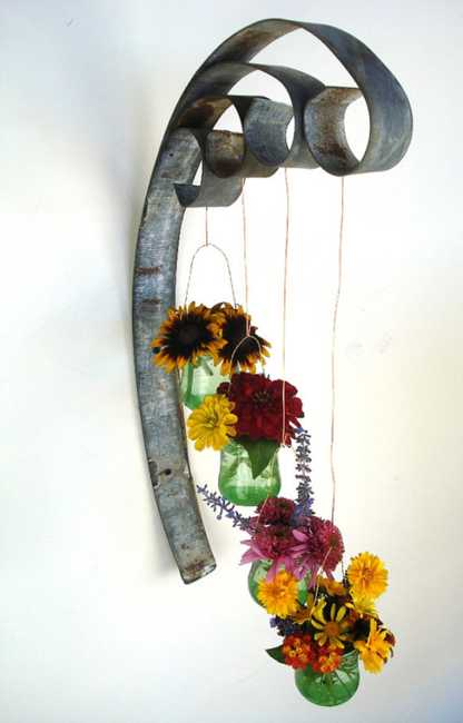 Turning Salvaged Wood Into Art Decor By Wine Country Craftman