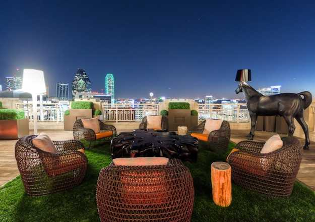 rooftop garden design and outdoor furniture