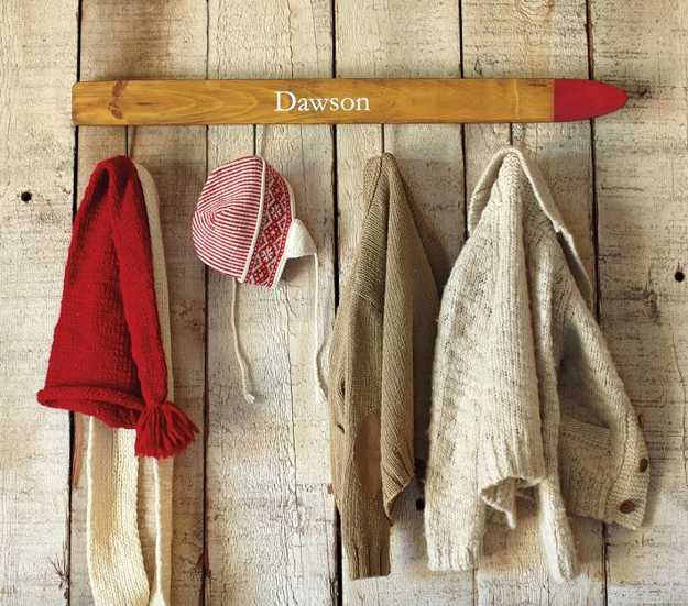 40 Home Exterior And Interior Decorating Ideas Recycling Old And Extraordinary Old Ski Coat Rack