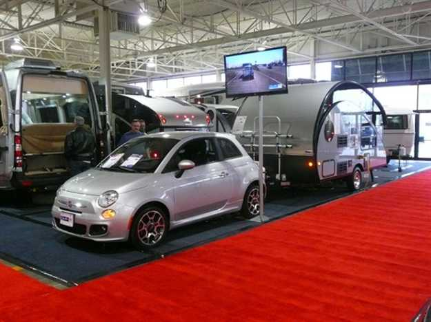 Small Travel Trailers from Toronto RV Show Offering Comfort