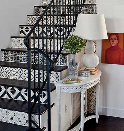 58 Cool Ideas For Decorating Stair Risers: 20 Unusual Interior Decorating Ideas For Wooden Stairs