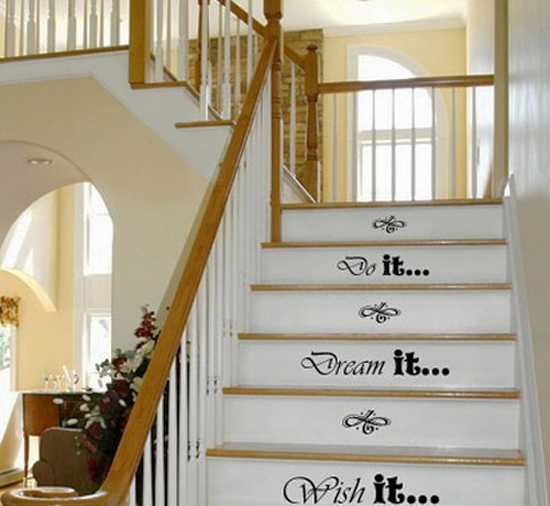 Delicieux Creative Painting Ideas For Decorating Wooden Stairs