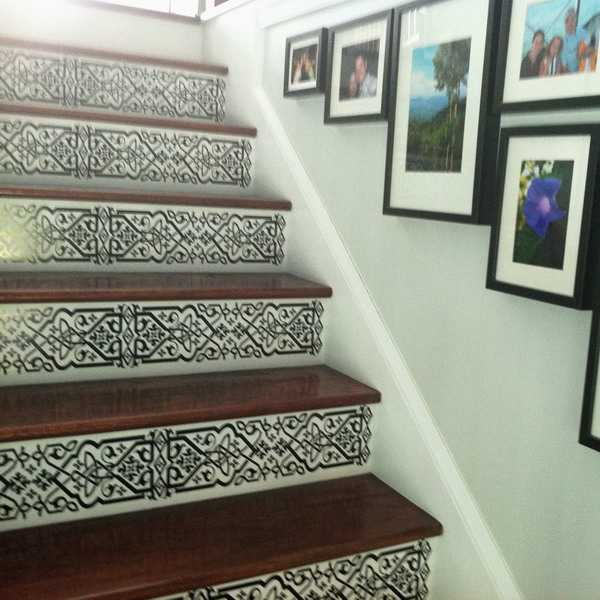 Painting Ideas For Decorating Wooden Stairs