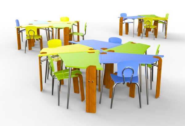 Contemporary Student Desk And Chair Allowing To Create Different Classroom  Layouts