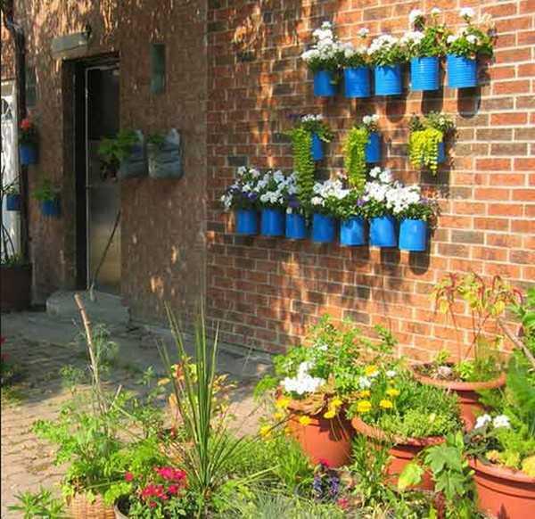 Landscaping Ideas Garden Walls: Vertical Garden Design Adding Natural Look To House