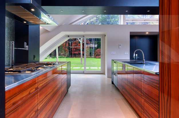 Modern House Design With Arc Roof Features Eco Friendly
