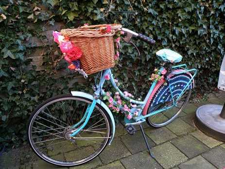 Bicycle Garden Decor