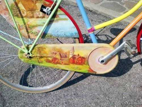 Colorful Decorating Ideas For Bike Frames Crafts For Kids And Adults
