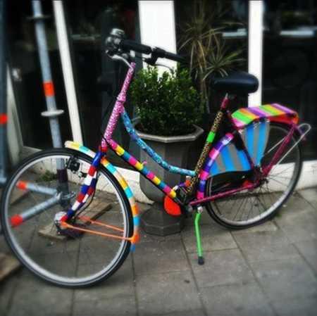 Colorful Decorating Ideas For Bike Frames Crafts For Kids