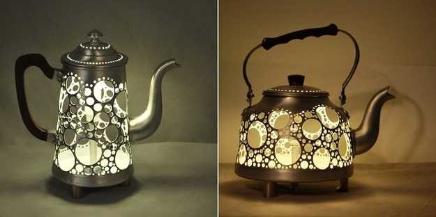 12 Inspiring Diy Home Decorations Recycling Old Tableware