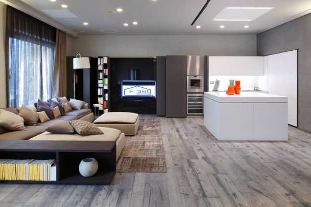 modern interior design materials and furnishings