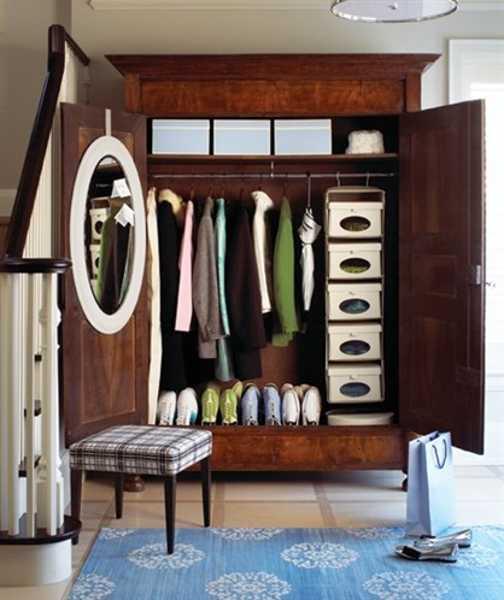 Decorative Ideas For Entryway Organization: Organized Entryway Designs And Foyer Decorating Ideas