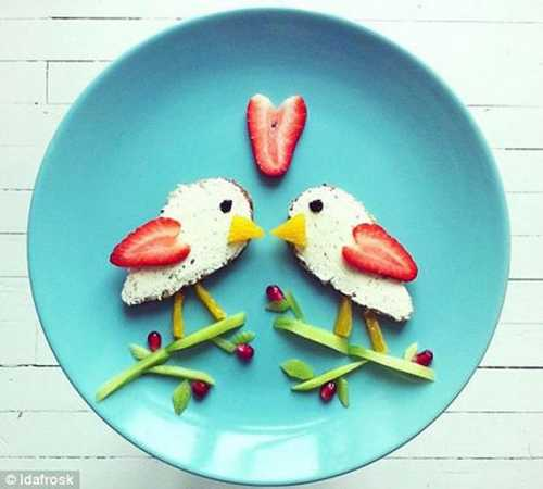 birds edible decorations