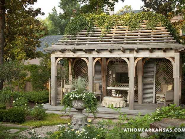 Beautiful Backyard Ideas And Garden Design Blending Classic