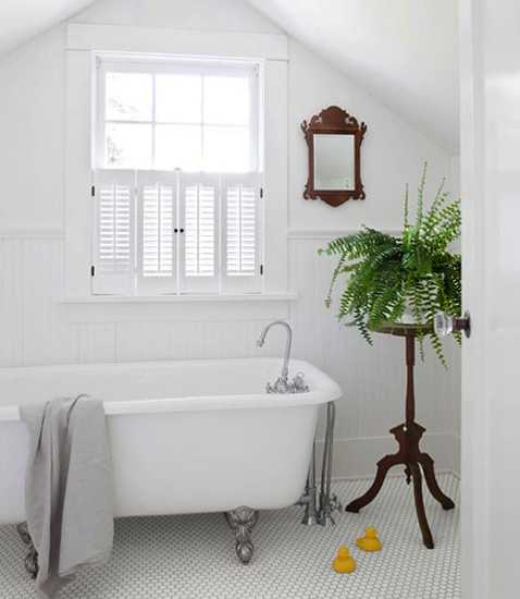 Modern Bathrooms Setting Ideas: 30 Green Ideas For Modern Bathroom Decorating With Plants