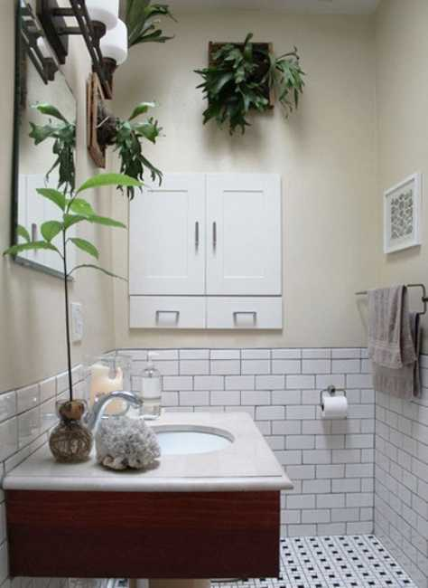 30 Green Ideas For Modern Bathroom Decorating With Plants