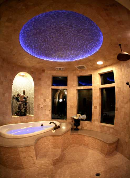 contemporary bathroom lighting design