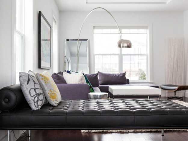 Modern Interior Design Ideas Decorating Accents In Purple Color Shades