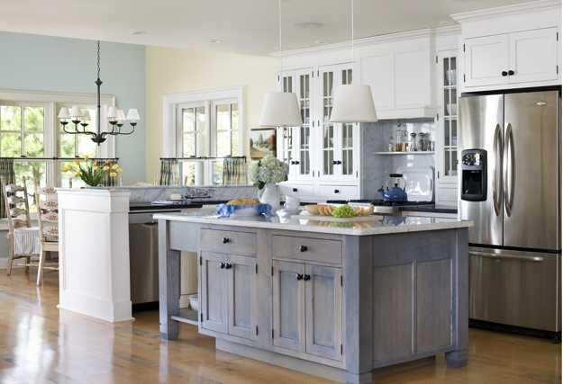 Light Colors Gl Cabinets Doorodern Lighting Fixtures Create Brighter Kitchen Design