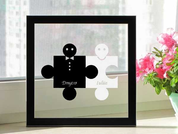 black and white paper crafts