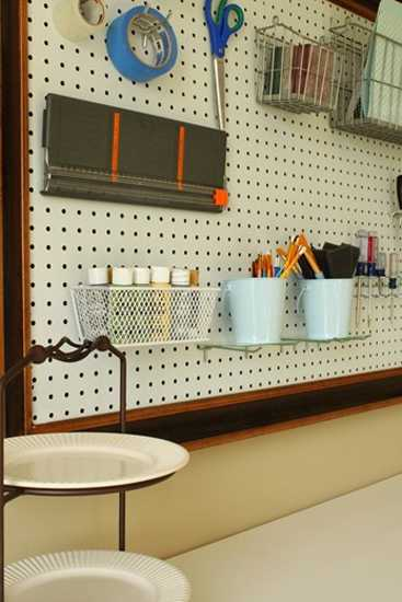 12 Ways To Utilize Pegboards For Home Organizers And