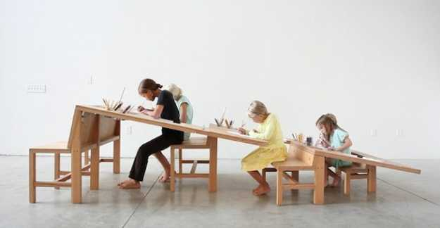 large kids activity table