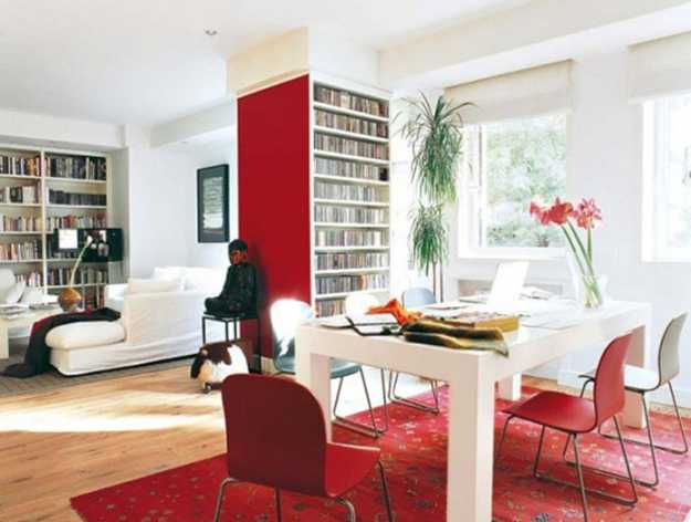 Red Interior Colors Adding Pion And Energy To Modern