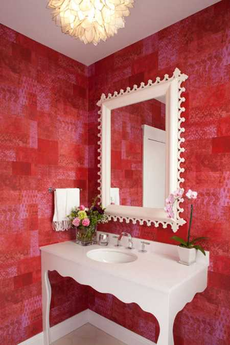 red interior colors adding passion  energy  modern