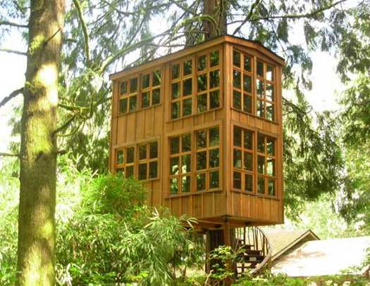 Modern Tree House Designs Bring Back Romantic Backyard Ideas