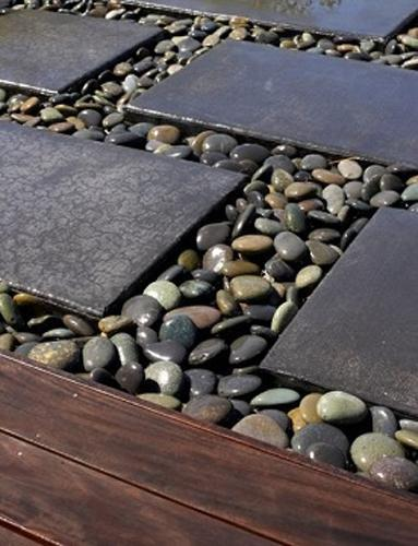 High Quality Creative Ways To Use Stones In Backyard Landscaping