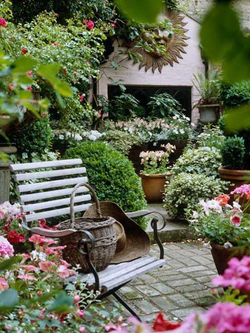 French Balcony Flower Ideas