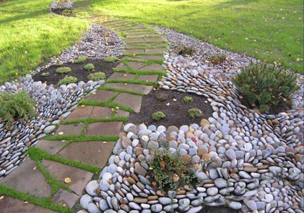 25 Unique Backyard Landscaping Ideas and Garden Path ...
