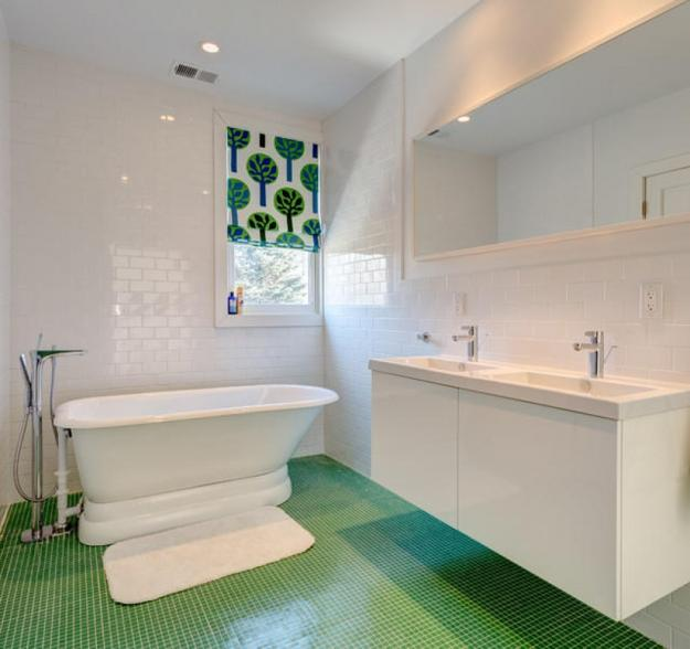 Bathroom Interior Design Ideas To Check Out 85 Pictures: 22 Modern Bathroom Ideas Blending Green Color Into