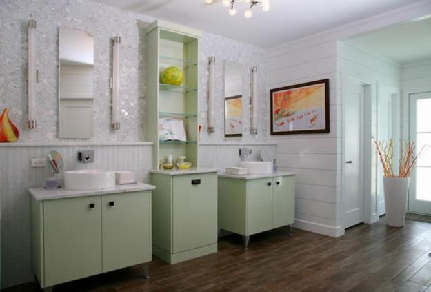 Bathroom Decorating Ideas Color Schemes 22 modern bathroom ideas blending green color into interior design