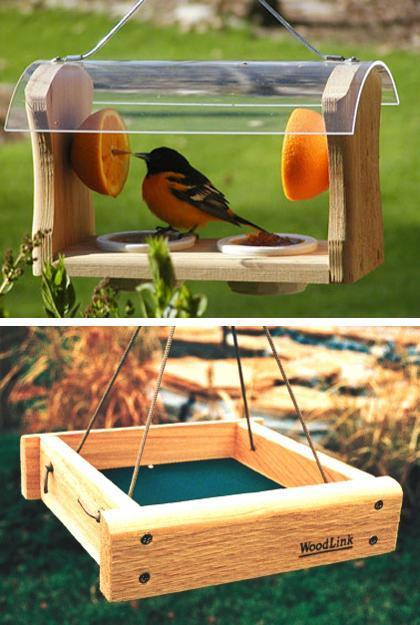 Modern Bird Feeders Attract Birds and Add Beautiful Yard ... on Birds Backyard Landscapes id=28467
