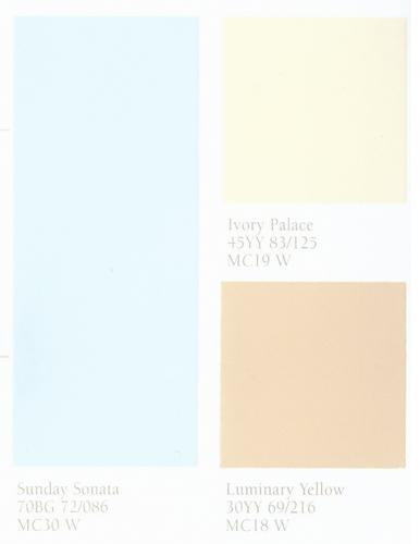 Sandy Yellow Color Shades Or Off White Paint Colors Combine Them With Light Blue And Wood Furniture In Brown Create Gorgeous