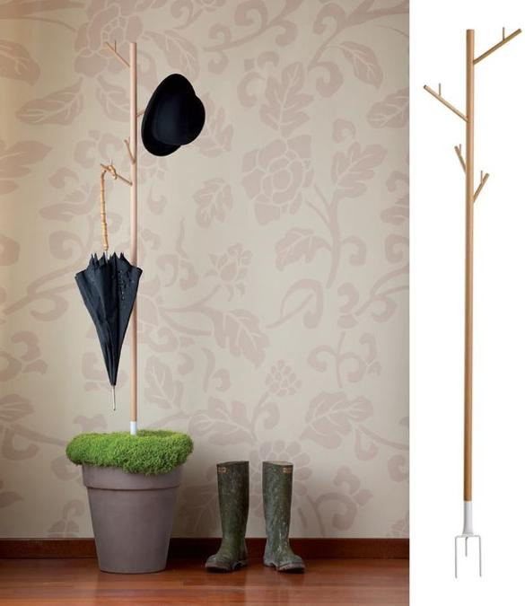 coat rack and umbrella storage ideas for watering indoor plants