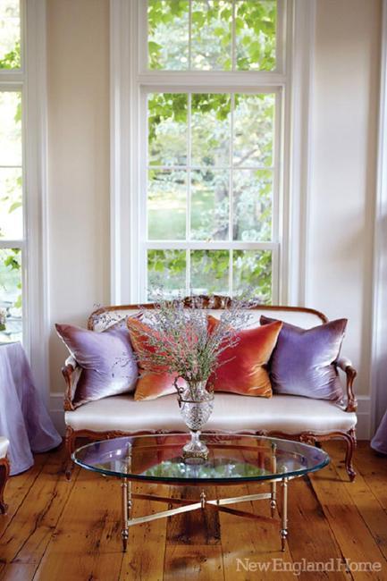 Modern Interior Design Enriched By Vintage Furniture And