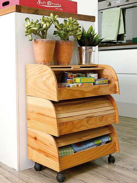 Diy Wood Furniture Adding Eco Storage To Modern Interior Design