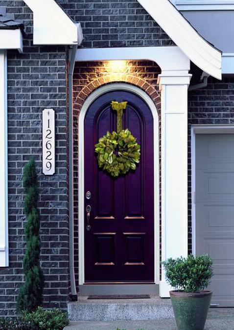 30 Front Door Ideas Paint Colors For Exterior Wood Door Decoration