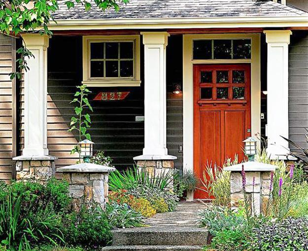 30 Front Door Ideas, Paint Colors for Exterior Wood Door ...
