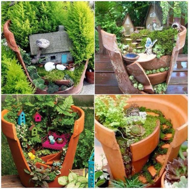 48 Miniature Garden Designs Fairy Gardens Defining New Trends In Custom Fairy Garden Ideas Pinterest Pict