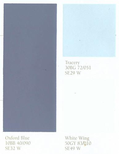 Light Blue And Gray Color Scheme For Dining Room Decorating