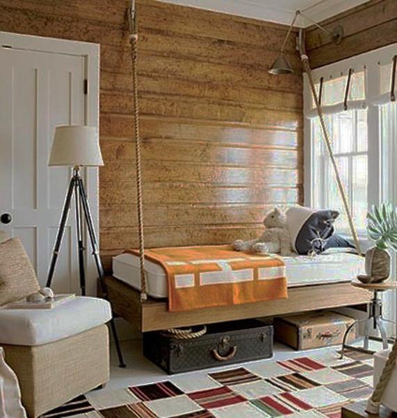25 Hanging Bed Designs Floating In Creative Bedrooms