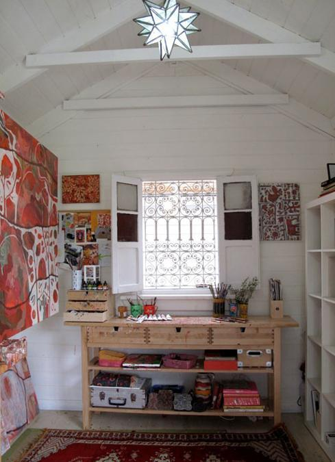Beautiful And Inspiring Home Art Studio Ideas